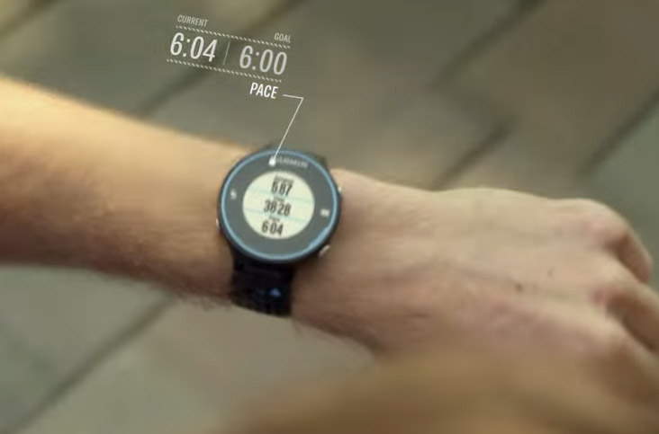 pulsklocka löpning